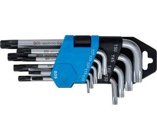 Torx Schlüsselset 9-teilig *extra lang*  T10 T50