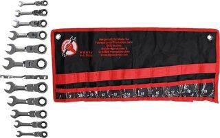 BGS 30710 Ratschenring-Maulschlüssel kurz 10 mm