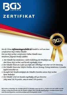 f/ür Torx BGS 9170 Schraubenausdreher-Satz T10 11-tlg. T55 f/ür defektes T-Profil